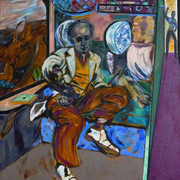 Expozitia pictorului David Hockney de la Londra