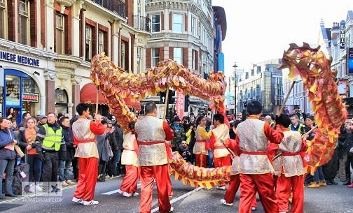 Anul Nou chinezesc la Londra!