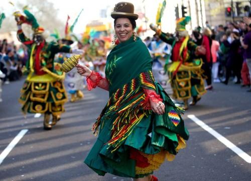 Festivalul si Parada de Ziua Sfantului Patrick de la Londra